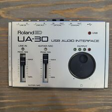 Roland ED USB Audio Interface UA-30 - NO SOFTWARE - NO CORDS - Turns on