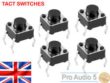 More details for 10x akai mpc tactile switch for 1000, 2000, 2000xl, 4000 - tact swith - 10pcs uk