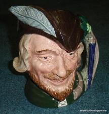 "Large ""Robin Hood"" Royal Doulton Character Toby Jug D6527 Collectible Gift!"