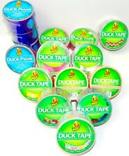 """New listing (Lot Of 15 Rolls) Assorted Pattern Duck Tape 1.88"""" x 10 Yards"""