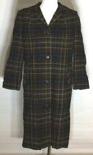 Vintage Pendleton Black Yellow Jacket Coat - Women's Medium
