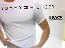 Tommy Hill Size XL Classic Crew Neck Tees T Shirts 3 pack White 100% cotton