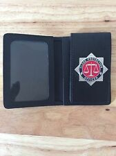 Police Style ID Card Wallet with Close Protection Officer Badge