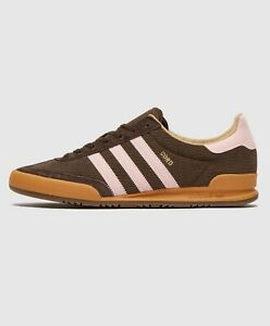 adidas Originals Cord Vintage Retro Shoes in Brown and White