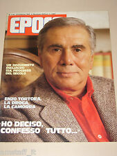 EPOCA=1985/1794=ENZO TORTORA=LINEA DIRETTA PROGRAMMA TV=CARNEVALE BRASILE=