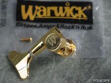 NEW WARWICK TREBLE SIDE TUNER GOLD GUITAR PART THUMB DOLPHIN CORVETTE NT BO