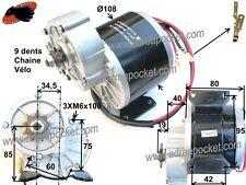 Moteur électrique 24V 350W Trottinette / Vélo / Pocket Quad