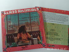 GLASS ANIMALS  - YOUTH ( CD 2016) 1 TRACK 3 MIXES CARD PICTURE DJ PROMO MINT CD