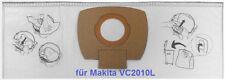 5 Stk. Makita Staubsack Filtersack Staubsaugerbeutel P-72899 für VC 2010 VC 2010