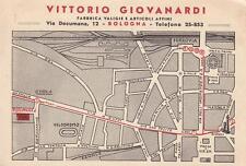 C326) BOLOGNA, VITTORIO GIOVANARDI,  FABBRICA VALIGIE E ARTICOLI AFFINI. VG.