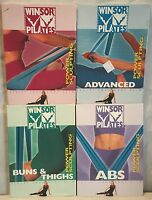 NEW 4 Winsor Pilates DVD lot, Ab Bun Thigh Accelerated body sculpting power