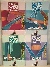 NEW 4 Winsor Pilates DVD lot, Ab Bun Thigh Accelerated body sculpting power