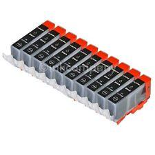 10 CLI 521 black für CANON IP3600 IP4600 IP4700 MP540 MP550 MP560 MP620 MP640