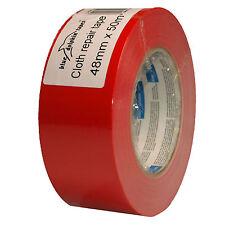 Premium Tape DUCT 190 48mmx50m Rot Gewebeband Klebeband Steinband Gaffa Gaffer
