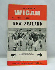International Teams Rugby League Programmes (1960s)