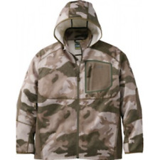 Cabela's Men's Outfitter Camo Merino Wool Wind & Waterproof Warm Hunting Jacket