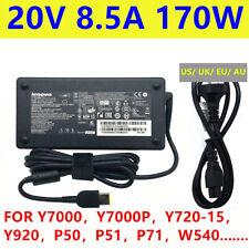 Original AC adapter Charger Lenovo ThinkPad W540 W541 8.5A 20V 170W Power Supply