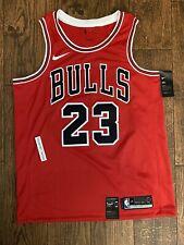 AUTHENTIC MICHAEL JORDAN 23 Chicago Bulls Nike Swingman Icon Edition Jersey 48 L