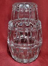 Vintage Fairy Lamp Tea Lite Candle Votive Holder - Modern Zig Zag Crystal Color