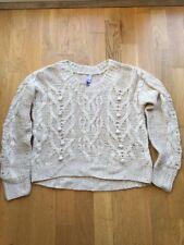Henry Holland Debenhams Cream Ivory Size 8 S 10/M Jumper Knitwear Wool Mohair Wa