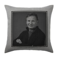 Liam Neeson Cushion Pillow Cover Case - Silver Grey - Gift