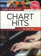 Really Easy Piano Chart Hits 6 Spring Summer 2018 Sheet Music Book Ed Sheeran