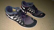 Nike-Size 6-Free 5.0 GS-Black Pink Silver-Girls-Running-644446-001-Ladies-Womans