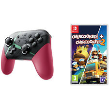 Xenoblade Chronicles 2 Controller & Overcooked! + Overcooked! 2 Game Bundle