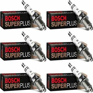 6 New Bosch Copper Core Spark Plugs For 1989-1991 STERLING 827 V6-2.7L