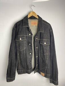 Vintage Guess Denim Jean Jacket from late 90's / Mens Size Large
