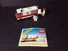 Vintage 1981 LEGO Classic Legoland Ambulance Truck Set Kit 6680 mint no box