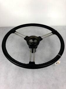 "Austin Healey 100-6, 3000 Leather Banjo Steering Wheel 17"" OEM"