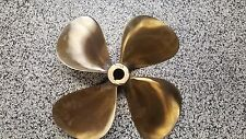 """RH 4 Blade prop 20"""" diameter x 21 pitch 1.25"""" to 1.375"""" tapered shaft used"""
