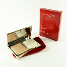 Clarins Everlasting Compact Foundation Beige #107 - Full Size 10 g / 0.3 Oz New