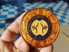 World Taekwondo Federation Wtf Medallion Medal Usa South Korea Flags