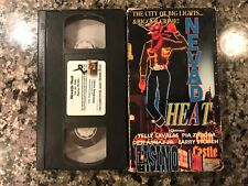 Nevada Heat Vhs! 1982 Thriller! (See) Butterfly Crime Boss & The Lonely Lady