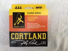 Cortland 444SL Classic WF5F Mint Long Body Fly Line FREE SHIPPING