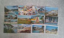 lote de 12 postales de las Islas Baleares años 80