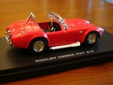 1/43 Shelby AC Cobra 427 S/C Roadster Red Kyosho Rare
