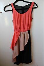 Miss Selfridge Petites gorgeous dress with sheer back in size UK 4, EUR 32