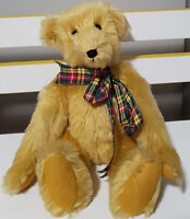 JILLS BEARS HANDMADE TEDDY BEAR PLUSH TOY ABOUT 19CM SEATED! SOFT TOY KIDS TOY!