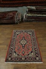 Semi Antique Handmade Foyer Hamedan Persian Area Rug Oriental Carpet 4'3X6'5