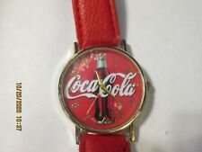 NEW COLLECTIBLE COCA COLA WRIST WATCH -UNSEX