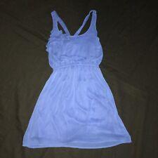 Xhilaration One Shoulder Dress Blue Woman's Medium Summer Wedding