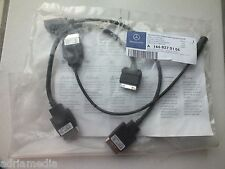 Mercedes Media Interface mp3 USB iPod Comand w221 w212 3 Cavo Audio AUX codice 518