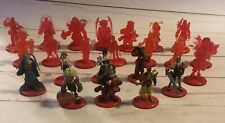 "Final Fantasy 10 X Coca Cola JAPAN Promo Color+Crystal 24 Mini Figure Set 2"" PVC"