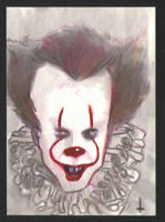 """ IT "" Sketch card by Artist Turtle Original Art"