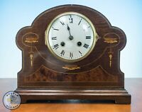 FRENCH CHIMING MANTLE CLOCK FOR RENOVATION SPARES OR REPAIR