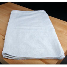 NEW UNUSED 60 PACK WHITE TERRY TOWELS BAR MOPS SIZE 14X17 WEIGHT 24oz DOZEN