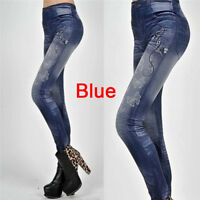 Women's Fashion New Sexy Skinny Leggings Jeans Jeggings Stretchy Pants Denim RJ